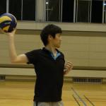 スパイク基本動作はキャッチボールで身に付ける