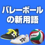 バレーボールの新用語